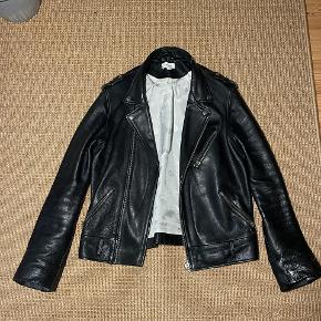 Soulland skind- & læderjakke