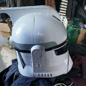 Stormtropper maske med lydeffekter