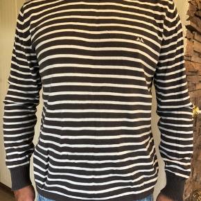 Stribet pullover fra Thomas Burberry. Brugt, ikke som ny men fejler absolut intet.  Byttes ikke.