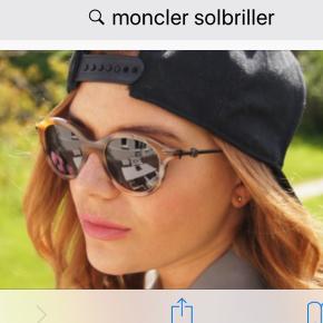 Smukke solbriller med spejlrefleks glas. Har været dyre.  Jeg handler kun via mobilepay