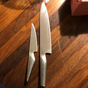 Global knive  G-1 - 200 kr  G-2 - 350 kr   Sælges samlet til 500 kroner   Afhentes på Østerbro