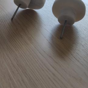 Marmor knager. Sælges for 300 kr.   Enkeltvis: Stor (9 cm i diameter): 250 Lille (6 cm i diameter) : 150