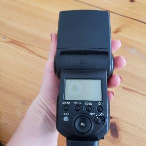 Sony Alpha flash.Aldrig brugt.Ny pris 2000.