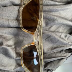 Helt nye champagne farvel retro solbriller