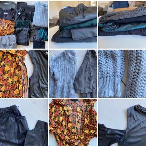 SÆLGER KÆMPE TØJPAKKE BILLIGT ✨  Sælger denne tøjpakke, som indeholder meget blandet tøj. Str. er primært M. Skriv for flere billeder eller evt spørgsmål 😊