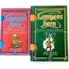 Lampens Børn 1-4 (Fantasy). Hele serien sælges samlet til kun 85,- kr. Afhentes eller sendes med DAO