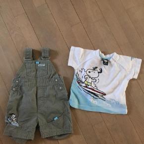 Varetype: Shorts Farve: Armygrøn Prisen angivet er inklusiv forsendelse.  Shortall samt t-shirt