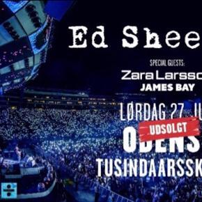 Sælger ét stk. billet til den udsolgte Ed Sheeran koncert den 27/7 2019! BYD