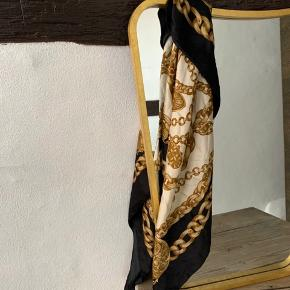 Beautiful Versace / Celine inspired vintage scarf Diogonally- 130cm