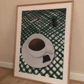 Plakat illustreret af Sally Trier (mig) Signeret 50x 70 cm  (mindre størrelse også mulig) 450 kr Printet på lækkert mat papir Ramme medfølger ikke