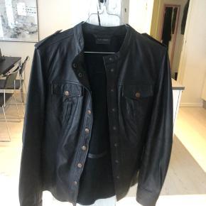 Gestuz læder skjorte/jakke