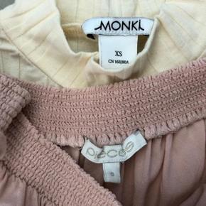 4 skønne bluser ☀️ * Monki str xs 📌  * Pieces str S  * Vero Moda str xs * H&M str xs 😁