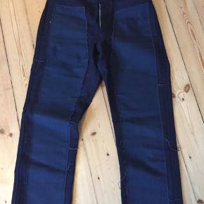 Vintage rare Comme Des Garcons bukser i navy blue.