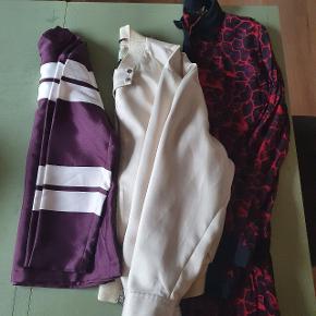 Sælger disse 3 dele samlet. Bluse fra Birgitte heirskin Bomber jakke fra by Malene Birger  Kjole fra gestuz  Alle som nyt og blusen stadig med mærke