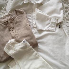 Brand: Olympia, skhuaban, grandfathers company, , H&M Varetype: Tøjpakke, shorts, hættetrøje, smækshorts, bluse, skjorte, undertrøje Størrelse: 6(6-7) Farve: Se  Dejligt drengetøj,- smækshorts aldrig brugt,- brune granddaddy-bluse har speciel stofstruktur- som stonewashed.