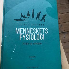 Menneskets fysiolog af Bente Schibye  4. Udgave  Få overstregninger