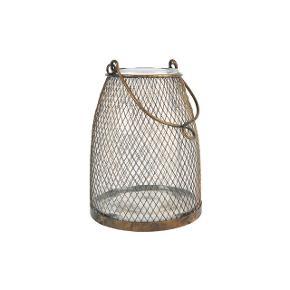 Fin antik inspireret lanterne i glas og messing - kan både bruges inde og ude. Købt i interiørbutik i Hornbæk. Som ny.   Mp: Se prisen + evt porto  Tag gerne et kig på mine mange andre annoncer.