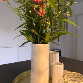 Marmor vase 17 x 7,5 cm