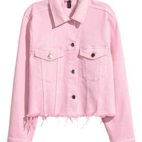 H&M pink denim jakke  Byd💕