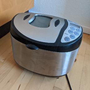 Til dem som nyder et godt nybagt brød, men ikke har tiden til at stå flere timer at bage.  Man hælder brødblanding ned i maskinen og lader den stå natten over, og morgen efter er brødet klar til ovnen.  Køber afhenter  Klar på en hurtig handel