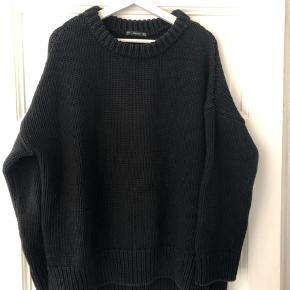 Stor, chunky strik fra Zara. Brugt en del, men i fin stand 🌿  #30dayssellout
