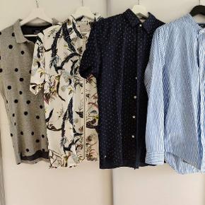 Mads Nørgaard polo Minimum skjorte Selected skjorte Mads Nørgaard skjorte
