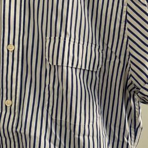 Bomuld - fin kort ærmer skjorte