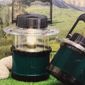 En ny og ubrugt teleskop lanterne til båd eller camping - vandtæt