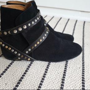 De vildt flotte Boho støvler- af Isabel Marant, i str 38...👌😍😱 Byd😊😊👍