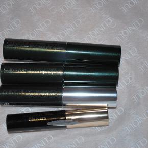 Aldrig åbnet/prøvet 3 stk. High Impact mascara (små/halve str) 1 stk Clarins wonder perfect mascara (også lille str) sælges samlet alle 4
