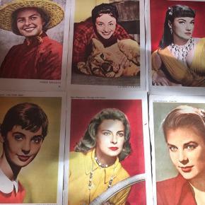 Gamle samle billeder fra blade pris pr stk 50kr