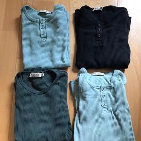 3 langærmet  1 T-shirt - grønlig / mint Gmb og nsn Sælges samlet