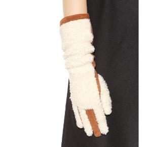 Varetype: Handsker rulam og ruskindStørrelse: Oz Farve: Brun  Aldrig brugt og stadig i æsken  Stylenavn Greta