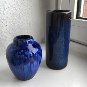 Samler objekt af en West Germany vase - den lille. Den anden ukendt keramiker.   Samlet pris