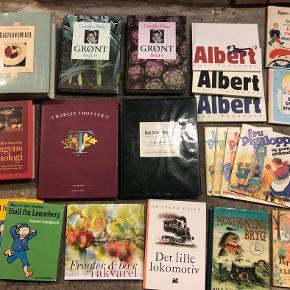 Sælger gode, velholdte bøger til 10 kr. pr. stk. for de fleste, 20 kr. for nogle og 30 kr. for få af dem. Ved få bøger sender jeg gerne, men ellers må de afhentes.