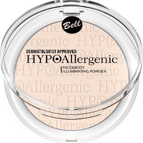 HYPOAllergenic Face&Body Illuminating Powder Dedikeret til kvinder, der ønsker at give deres hud et frisk og veludhvilet udseende.  Formlen indeholdende perlemoriserende pigmenter, der giver effekten af en subtil, naturlig hududstråling. Derudover blødgør den huden takket være blødgøringsmidler.