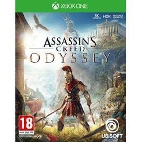 Assassins Creed Odyssey til Xbox One.   Brugt men stadig i god stand.   Nypris lige nu: omkring 250 kr.   Pris: 100 kr., ellers så byd!   Kan afhentes ved Nørrebro Station eller sendes for købers regning.