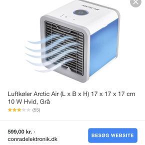Den populære Arctic Air - perfekt til sommervarmen eller det varme soveværelse.  Brugt én gang. Nypris: 600 kr. Prisen er fast og porto er ikke inkl.   Husk at tjekke mine andre annoncer for lækre designs ❤️