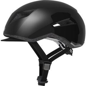 Cykelhjelm. Abus Yadd-i. Shiny Black. Helt ny. Str: M (55-59cm). Den har kostet 599kr. Kan prøves og afhentes i Aarhus.