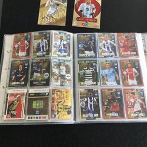 Fodboldkort sælges samlet incl mappe
