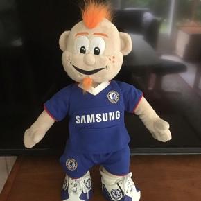 Sjov bamse/dukke til en fan af Chelsea ingen røg eller dyr i hjemmet 45 cm høj