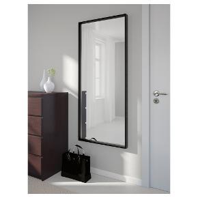 Stort flot NISSEDAL spejl fra Ikea sælges grundet flytning.  Kan stadig købes i IKEA til 379 kr.  Sælges for 200.  Bud er stadig velkomne.