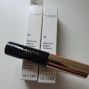 2 små Clarins Mascara Super Volume & colour intense sælges. Aldrig brugt. Aldrig åbnet   50kr for begge.  Afhentes i Nørresundby eller sendes med DAO.  #sundaysellout