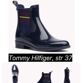 Tommy Hilfiger Rain Boots i marineblå. Som nye. Str 37
