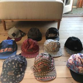 Mitchel&Ness - Carhartt - Urban outfitters m.m  Alle caps 100kr pr. stk