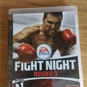 Fight Night round 3  PS3 spil -fast pris -køb 4 annoncer og den billigste er gratis - kan afhentes på Mimersgade 111 - sender gerne hvis du betaler Porto - mødes ikke andre steder - bytter ikke