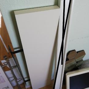 Svævehylde i hvid