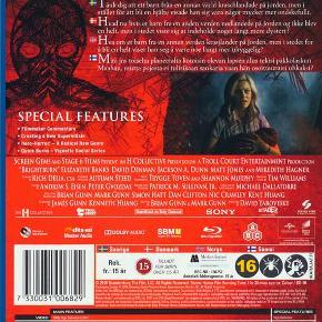 0454  Brightburn - 2019 - Blu-Ray Dansk Tekst - I FOLIE   ra skaberne af Guardians Of The Galaxy.  He's Not Here To Save The World... Hvad nu hvis et barn fra en anden verden nødlandede på Jorden og ikke blev en helt, men i stedet viste sig at indeholde noget langt mere dystert?