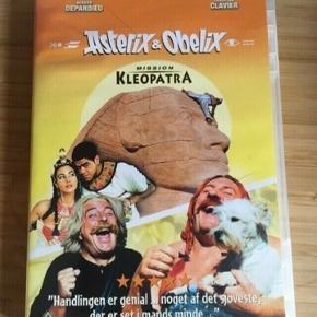 Asterix og Obelix dvd Mission kleopatra  -fast pris -køb 4 annoncer og den billigste er gratis - kan afhentes på Mimersgade 111 - sender gerne hvis du betaler Porto - mødes ikke andre steder - bytter ikke