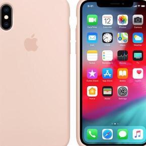 Varetype: Cover Størrelse: X & XS Farve: Rosa Oprindelig købspris: 349 kr. Prisen angivet er inklusiv forsendelse.  Apple iphone cover silikone i farven sand pink! Sprit nyt og i æske!! Mp 250